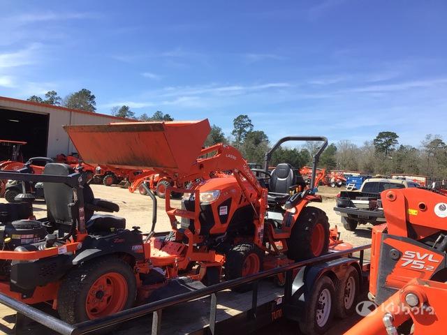 2020 Kubota LX2610HSD 4WD Tractor, MFWD Tractor