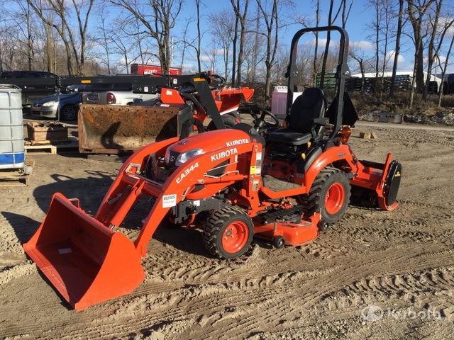 2020 (unverified) Kubota BX2380 4WD Utility Tractor, Utility Tractor