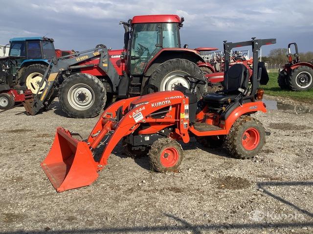 2019 (unverified) Kubota BX2380 4WD Utility Tractor, Utility Tractor