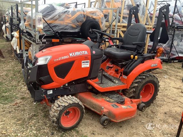 2018 (unverified) Kubota BX2380 4WD Utility Tractor, Utility Tractor