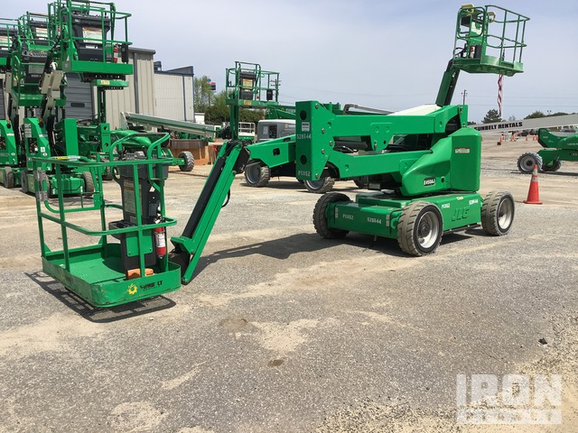 2013 JLG E450AJ Electric Articulating Boom Lift, Boom Lift