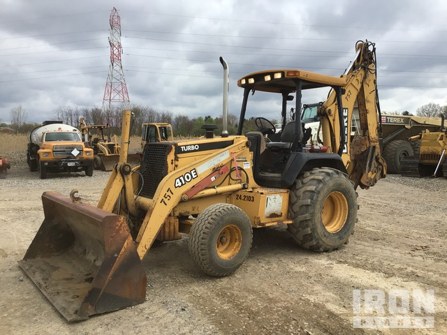 1998 (unverified) John Deere 410E 4x2 Backhoe Loader, Loader Backhoe