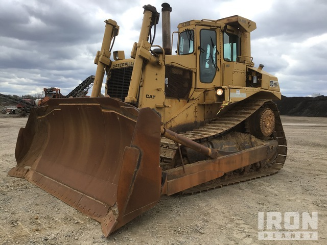 1984 (unverified) Cat D8L Crawler Dozer, Crawler Tractor