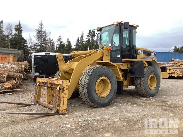 2007 Cat 938G Series II Tool Carrier, Integrated Tool Carrier