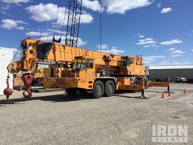 1995 Grove TM-9120 120 ton 8x4 Hydraulic Truck Crane, Hydraulic Truck Crane