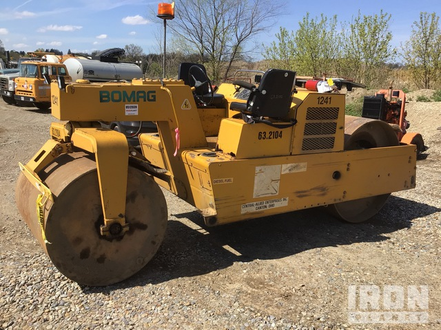 1995 (unverified) Bomag BW9AS Double Drum Roller, Tandem Roller