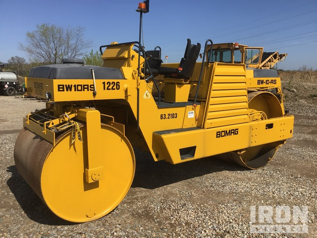 1986 Bomag BW10AS Double Drum Roller, Tandem Roller
