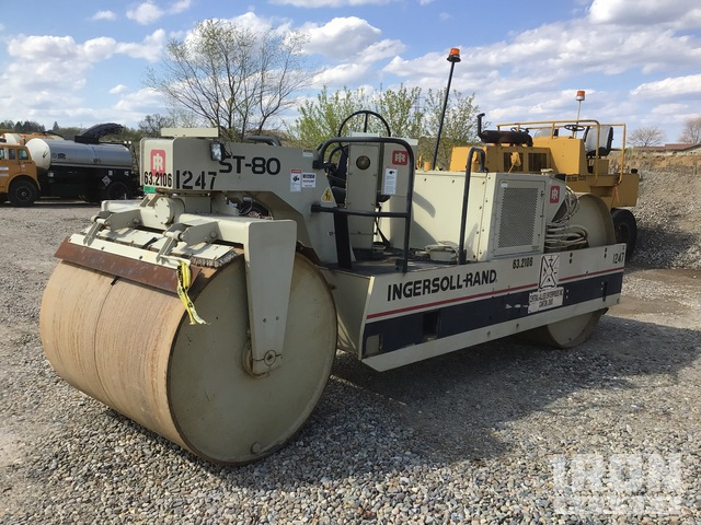 1993 (unverified) Ingersoll-Rand ST-80 Double Drum Roller, Tandem Roller