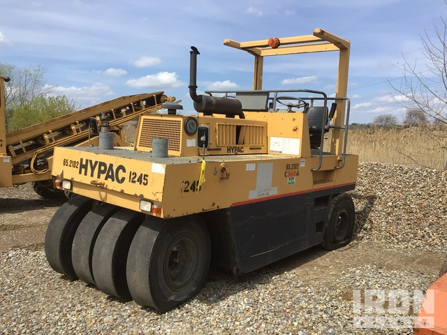 1998 (unverified) Hypac C560A 8 Wheel Pneumatic Roller, Roller