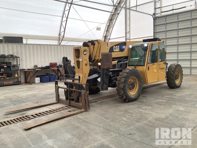 2010 Cat TL1055 Telehandler, Telescopic Forklift