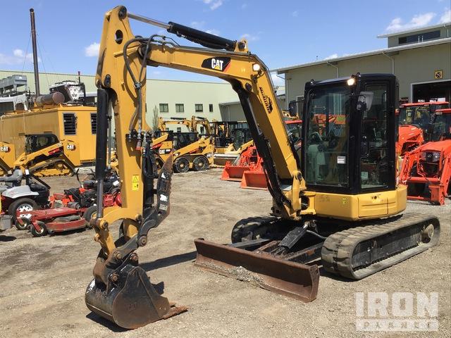 2017 (unverified) Cat 305.5E2 CR Mini Excavator, Mini Excavator (1 - 4.9 Tons)