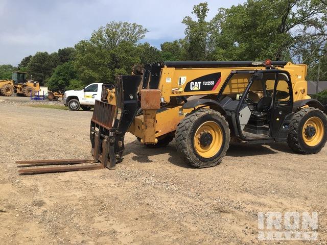 2015 Cat TL1255D Telehandler, Telescopic Forklift