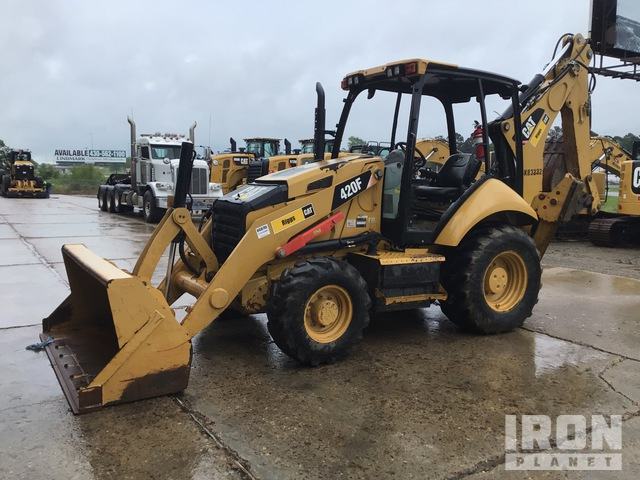 2014 Cat 420F 4x4 Backhoe Loader, Loader Backhoe