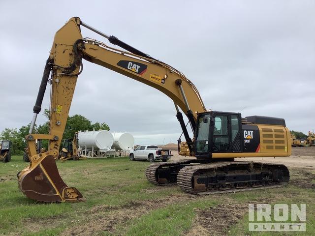 2018 Cat 349FL Track Excavator, Hydraulic Excavator