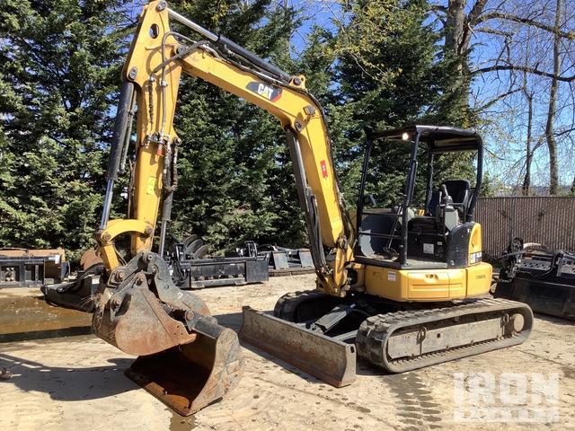 2017 Cat 305.5E2 CR Mini Excavator, Mini Excavator (1 - 4.9 Tons)