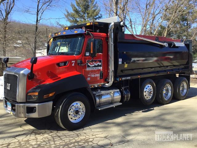 2013 Cat CT660S 8x4 Tri/A Dump Truck, Dump Truck (Tri/A)