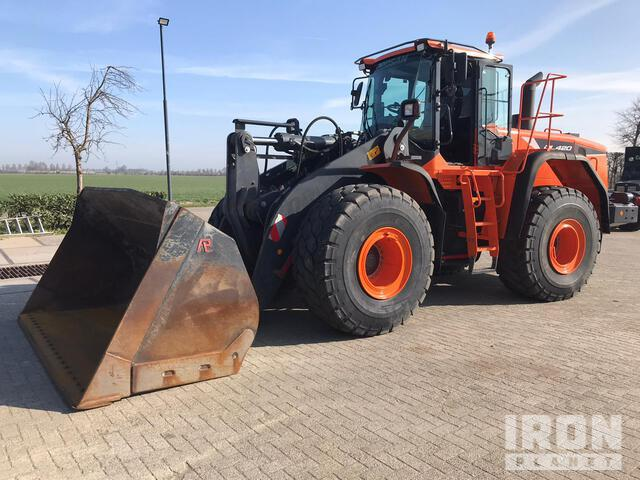 2018 Doosan DL420-5 Wheel Loader, Wheel Loader