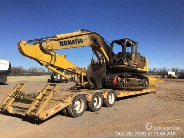 2014 Komatsu PC210LC-10 Track Excavator, Hydraulic Excavator