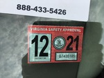 Motor Vehicle Safety Standards Label