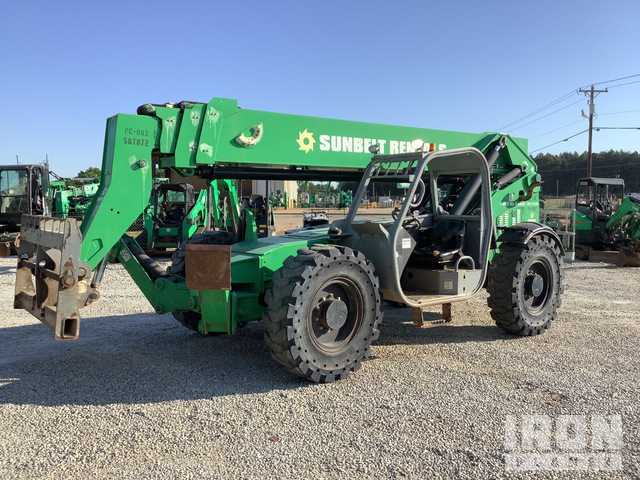 2013 Genie GTH1056 Telehandler, Telescopic Forklift
