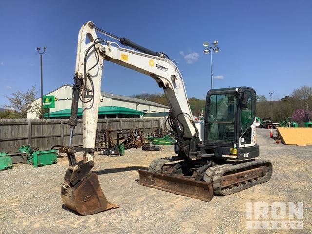 2012 (unverified) Bobcat E80 Mini Excavator, Mini Excavator (1 - 4.9 Tons)