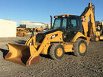 2009 Cat 450E Backhoe Loader