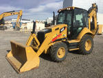 2014 Cat 420F 4x4 Backhoe Loader
