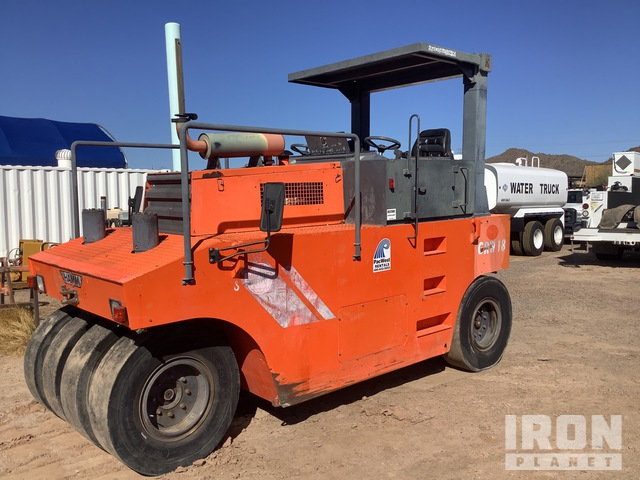 2005 (unverified) Hamm GRW18 8 Wheel Pneumatic Roller, Roller