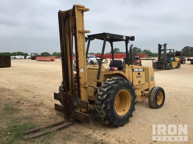 John Deere 482C 6000 lb Rough Terrain Forklift, Parts/Stationary Construction-Other