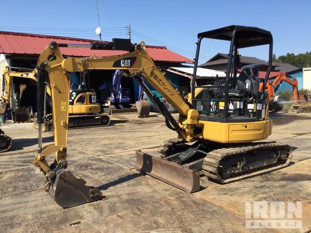 2015 年 Cat 303E CR Mini Excavator, Mini Excavator (1 - 4.9 Tons)