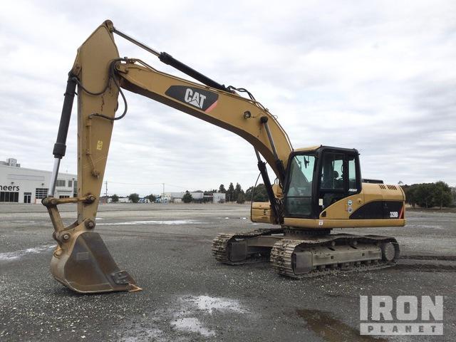 2007 年 Cat 320D2 Track Excavator, Hydraulic Excavator