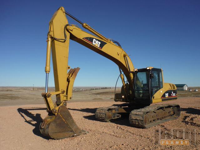 2006 Cat 320C L Track Excavator