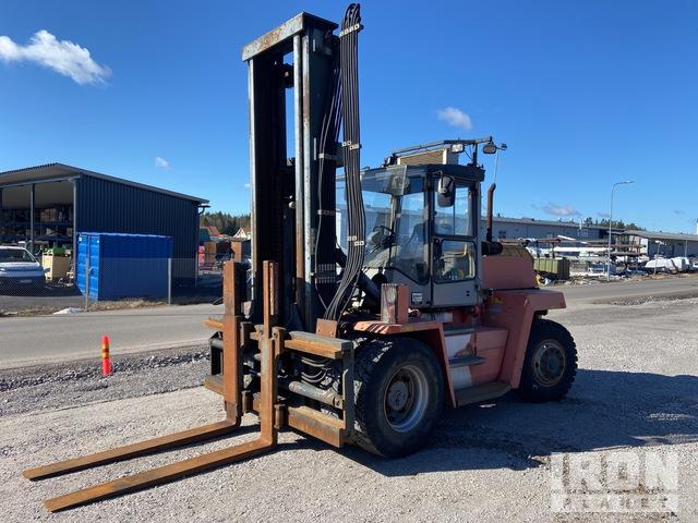 2000 Kalmar DCD 90-6 9000 kg Pneumatic Tire Forklift, Forklift
