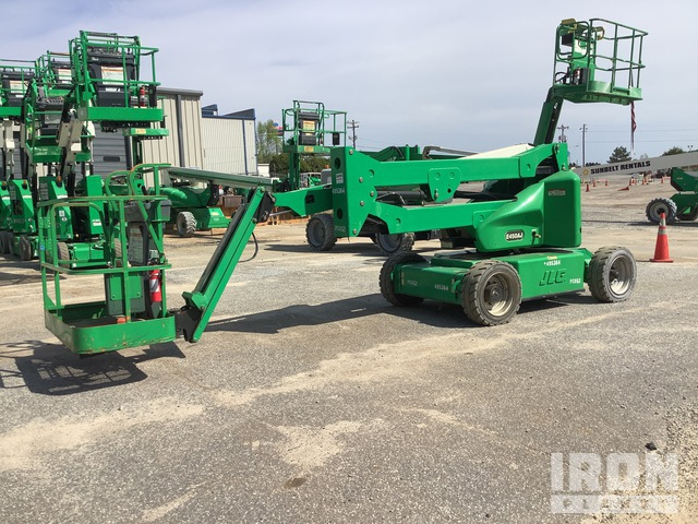 2012 JLG E450AJ Electric Articulating Boom Lift, Boom Lift