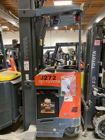 2015 (unverified) Toyota 8BDRU15 Electric Forklift, Electric Forklift