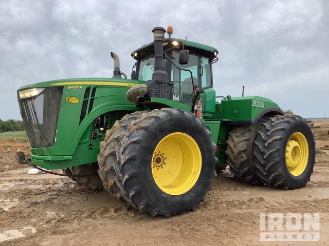 2016 John Deere 9420R 4WD Tractor, MFWD Tractor
