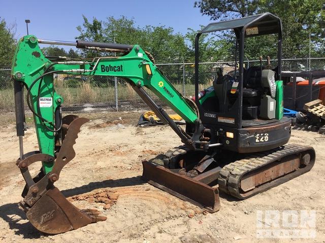 2013 Bobcat E26EM Mini Excavator, Mini Excavator (1 - 4.9 Tons)