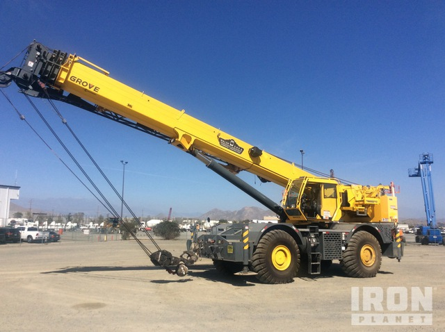 2014 Grove RT880E 80 ton Rough Terrain Crane, Rough Terrain Crane