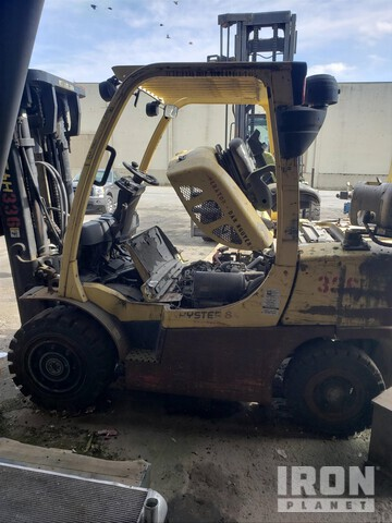 2007 (unverified) Hyster H80FT Pneumatic Tire Forklift, Parts/Stationary Construction-Other