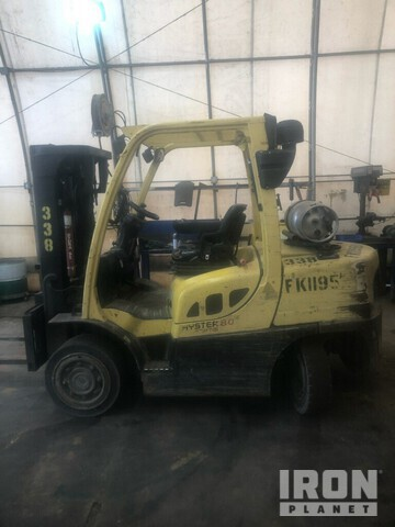 2011 (unverified) Hyster H80FT Pneumatic Tire Forklift, Parts/Stationary Construction-Other