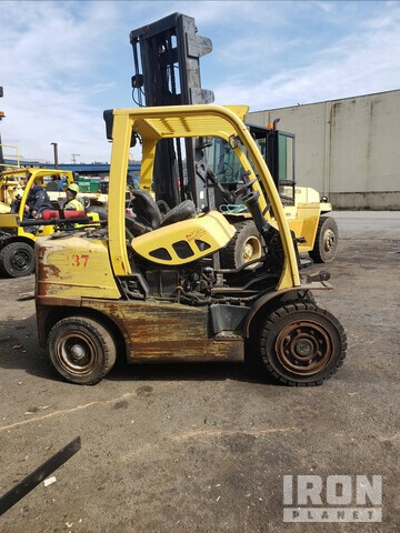 2009 (unverified) Hyster H80FT Pneumatic Tire Forklift, Parts/Stationary Construction-Other