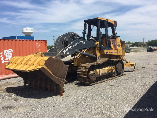 2016 John Deere 755K Crawler Loader, Crawler Loader