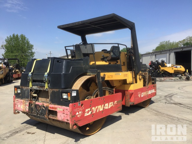1999 Dynapac CC501 Vibratory Double Drum Roller, Roller