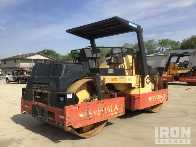 2000 Dynapac CC501 Vibratory Double Drum Roller, Roller