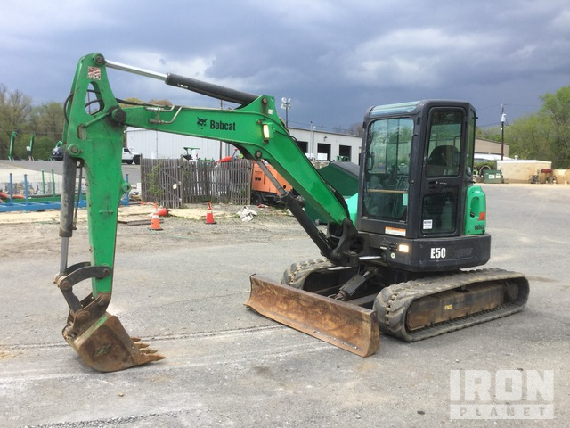2013 Bobcat E50M Mini Excavator, Mini Excavator (1 - 4.9 Tons)
