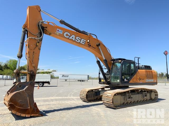2017 (unverified) Case CX490D Track Excavator, Hydraulic Excavator