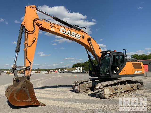 2017 Case CX350D Track Excavator, Hydraulic Excavator