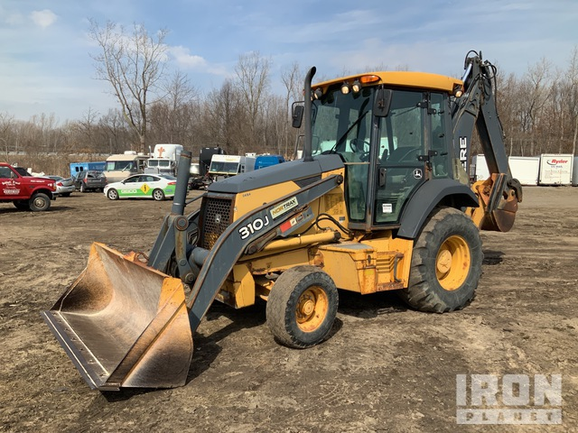 2008 John Deere 310J 4x2 Backhoe Loader, Loader Backhoe