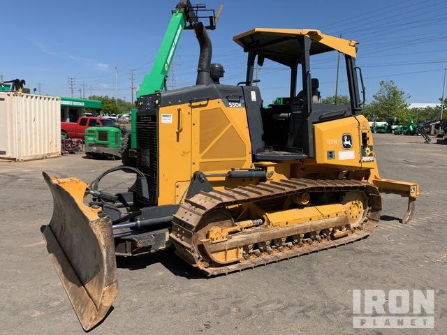 2015 (unverified) John Deere 550K XLT Crawler Dozer, Crawler Tractor