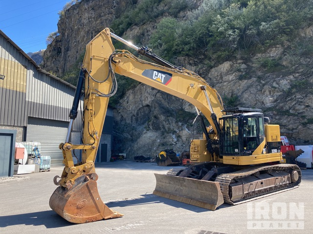 2008 Cat 328D-LCR Track Excavator, Hydraulic Excavator